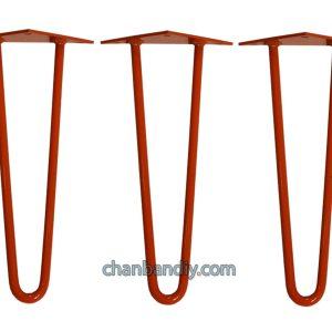 Chân Bàn Hairpin Cam 30cm